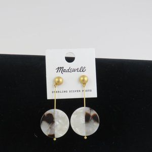 Madewell Fashion Earrings with Sterling Posts #169